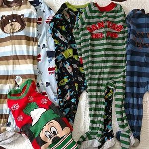 Boys 2t Pajama Lot